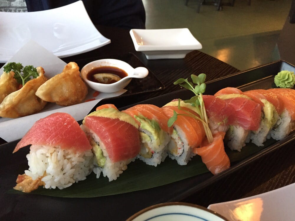 The Yireh roll had fresh sashimi was was sooo good with ...