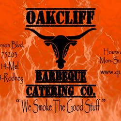 Oakcliff Barbeque and Catering logo