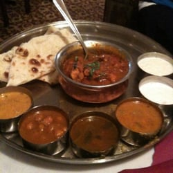 Chicken curry thali what i eat at home everyday for Ashoka indian cuisine troy mi