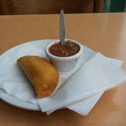 Empanadas, worth a couple of quid of…