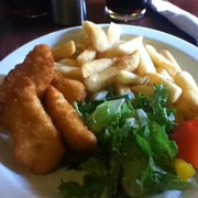 My 'kid sized' chicken strips lunch and…