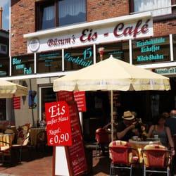 Büsum's Eiscafe, Büsum, Schleswig-Holstein