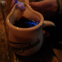 Flaming Glühwein - if I tried to spell…
