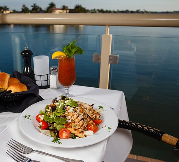 Bayside seafood grill bar seafood naples fl for Fish restaurant naples