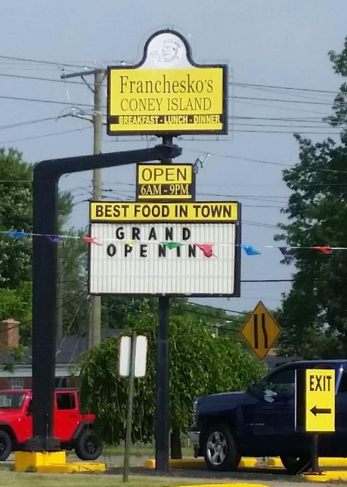 Franchesko S Coney Island American New Garden City Mi Reviews Photos Yelp