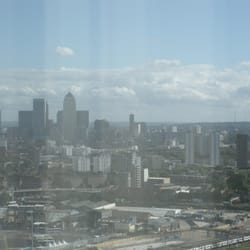 View of the Canary Wharf skyline from…