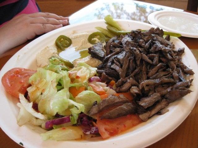 Beef Shawarma Platter Beef Shawarma Plate
