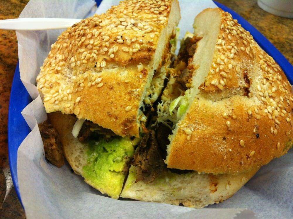 Cemitas De Lengua (Mexican Tongue Sandwiches) Recipes — Dishmaps
