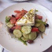 ... feta kalamata olives oregano evoo flavorful served cold on a chilled