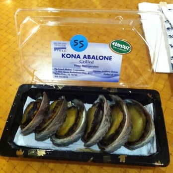Kona abalone 121 photos 25 reviews seafood markets for Kona fish market