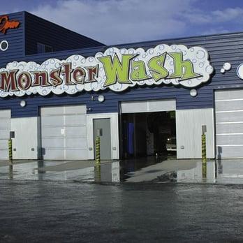 Monster Car Wash Anchorage