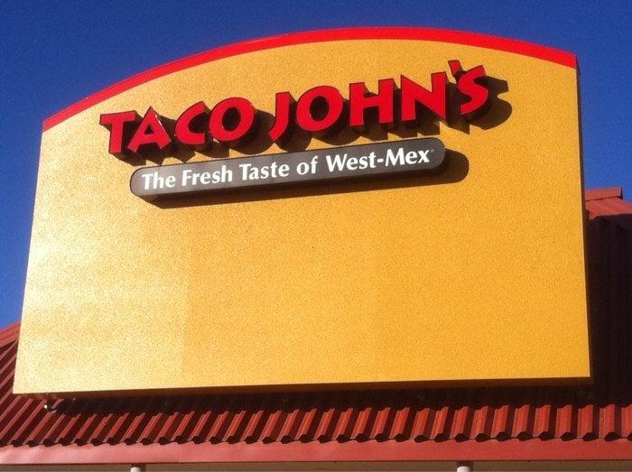 Taco john s mexikanisches restaurant 708 s walnut st for M m motors creston iowa