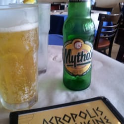 Acropolis cuisine greek beer didnt care for it for Acropolis cuisine metairie