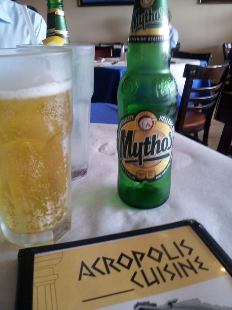 Greek beer didnt care for it yelp for Acropolis cuisine metairie