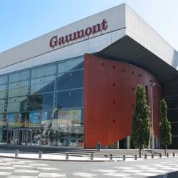 Gaumont Multiplexe - Angers, France. Le paté de cinéma Gaumont à Angers, sur les bords de la Maine.