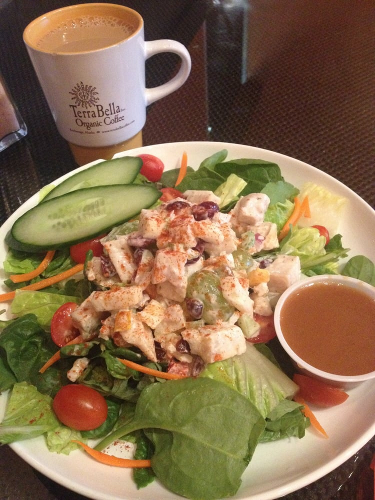 AK, United States. Oh so good, don't miss the chicken salad