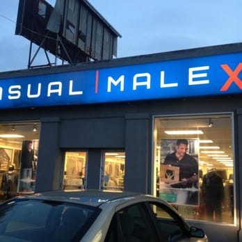 Casual male clothing store