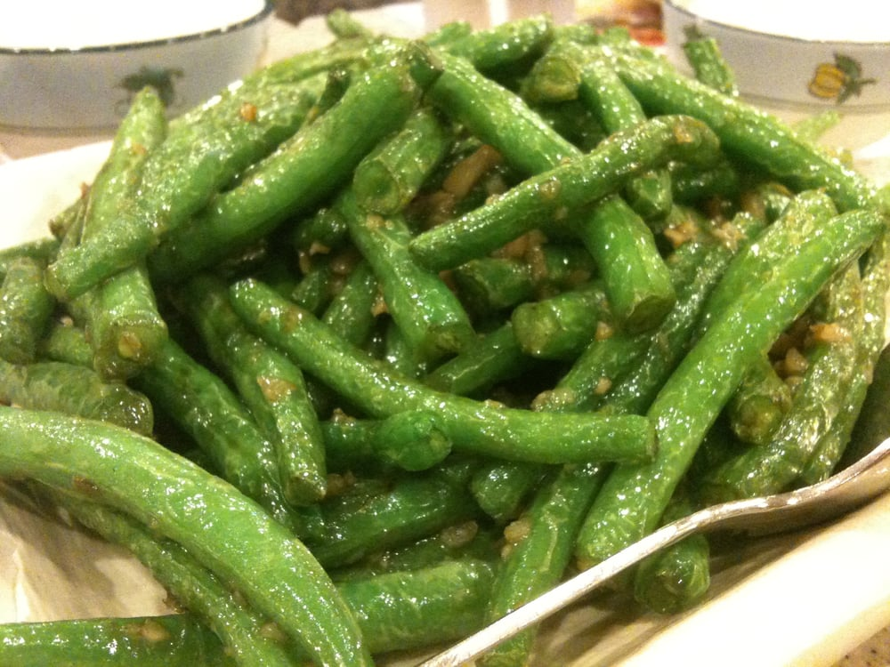 Tasty Garden - Alhambra, CA, United States. Pan Fried Green Beans