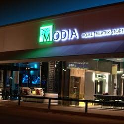 Modia Home Theater Store logo
