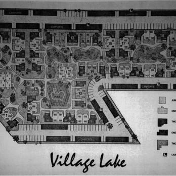 Apartment complex map / layout. Beware road-facing buildings -- their ...