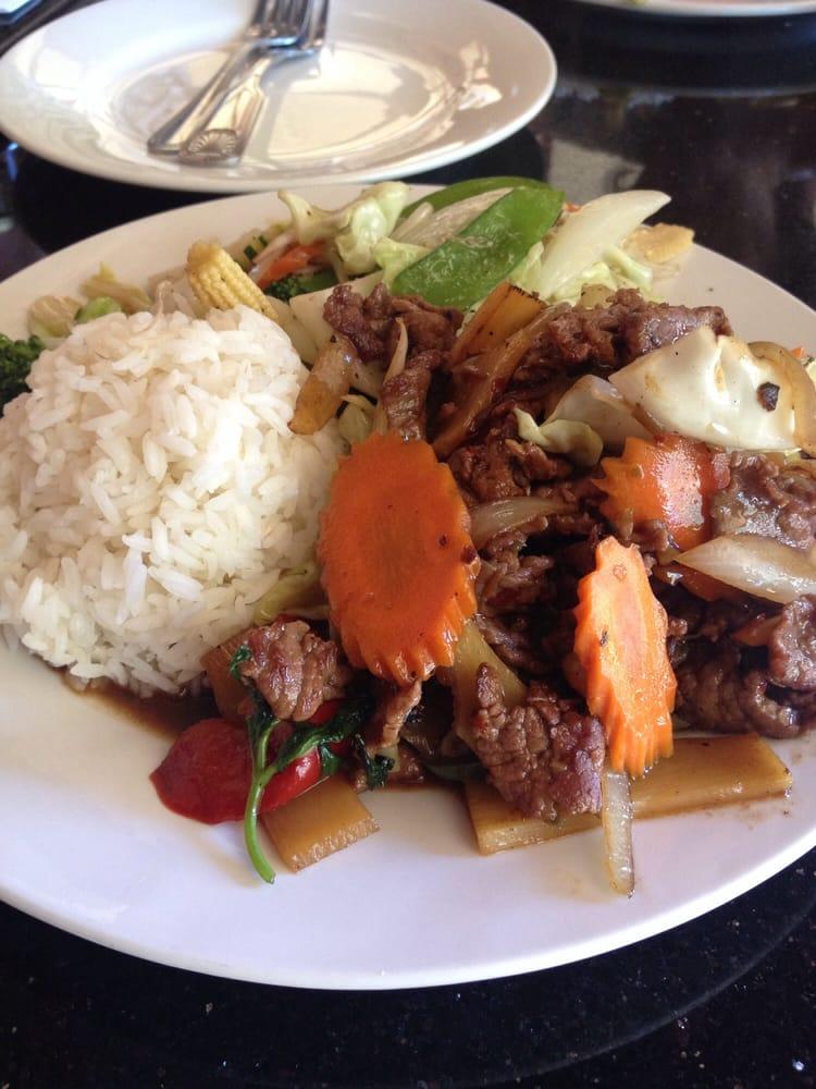 Exotic Thai Cafe Menu Agoura Hills