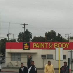 one day paint body centers van nuys ca usa