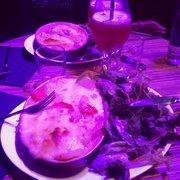 Le Broc' - Lille, France. Tartiflette montagnarde avec tomates et fromage à raclette - environ 13€50