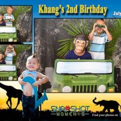 Snapshot Moments Photobooth - Snapshots Photobooth for a Safari Birthday Party! - Arlington, VA, Vereinigte Staaten