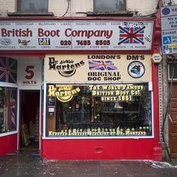 British Boot Company Camden