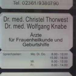 Dr. med. Christel Thorwest, Recklinghausen, Nordrhein-Westfalen