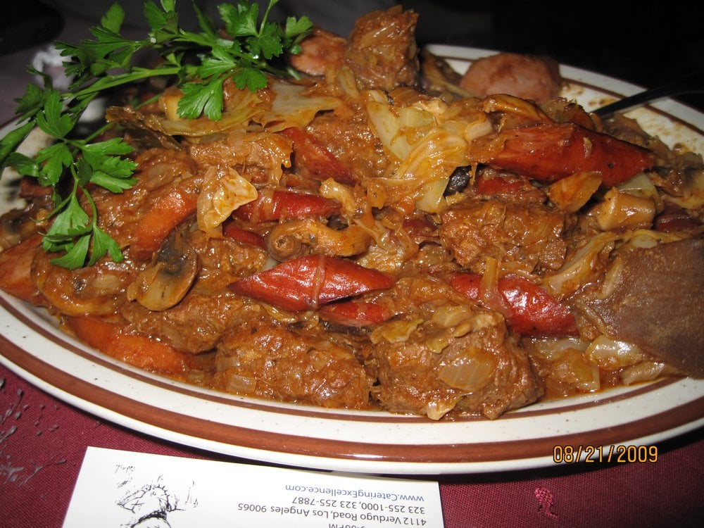 ... - Los Angeles, CA, United States. Bigos (Polish Hunter's Stew