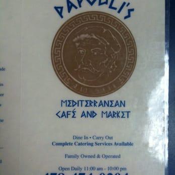Papouli S Mediterranean Cafe Amp Market Macon Ga Yelp