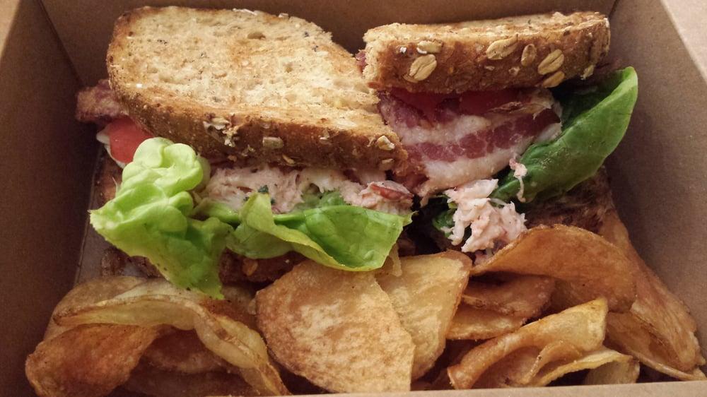 The Artist's Palette - Lobster club sandwich ($13.49) - Lake Buena ...