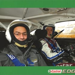 Bmerc Boss - Ercan at a Castrol Rally Event with Theirry Neuville!