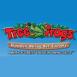 Tree frogs wooden swing set factory buffalo grove il united states