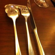 Cool cutlery  resting thing!