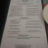 Cafe Rolle Sacramento Menu