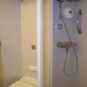 WC und Dusche in der 3*-Innnenkabine