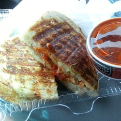Corner Bakery Cafe - Sliced meatball panini - Skokie, IL, United ...