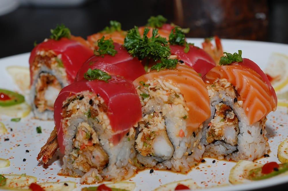 House modern sushi restaurant japanese mesa az for Modern house sushi 9 deler sett