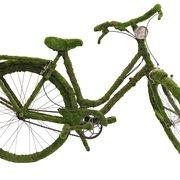 Insolite vélo moussé artificiel