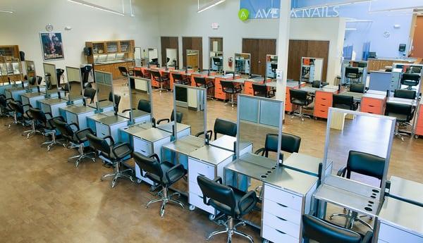 Aveda fredric s institute cincinnati day spas west for L salon west chester ohio
