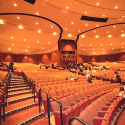 Chandler Center For The Arts - View of the main auditorium. The rear seating areas each rotate 180 degrees to become 2 separate smaller theaters. - Chandler, AZ, Vereinigte Staaten