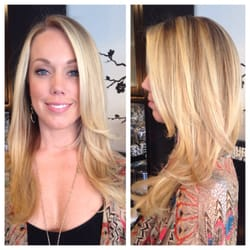Bella salon of naples blonde balayage by bella salon of naples in