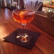 Bespoke cocktail: The 'Aperol Tom Thom' Aperol & Old Tom gin