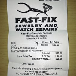 Fast fix jewelry and watch repairs glendale glendale for Fast fix jewelry repair