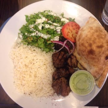 Maiwand grill 98 photos afghan downtown baltimore for Afghan kebob cuisine menu