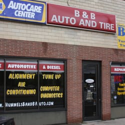 B & B Auto & Tire Incorporated logo
