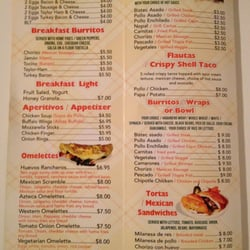 Taqueria Viva Mexico Kitchen Cafe Jersey City Menu