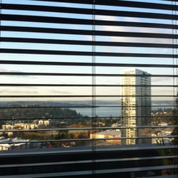 777 Cafe - Bellevue, WA, États-Unis. The view from the top